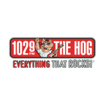 Logo for 102.9 The Hog